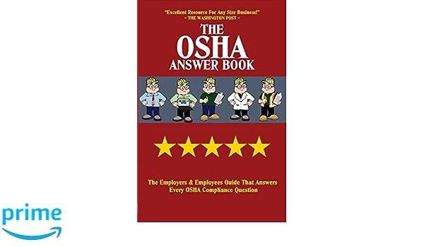 Amazon com: The OSHA Answer Book (9781890966355): Mark