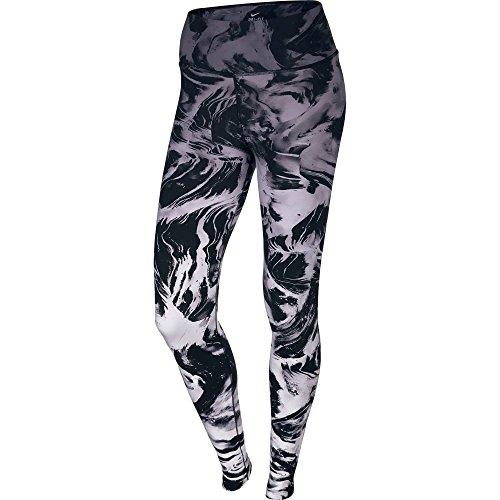 Nike Women's Legendary Engineered Printed Waterfall Training Tights X-Small Black / Grey