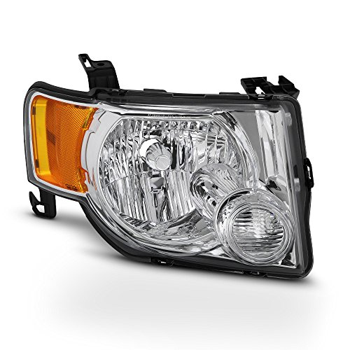 - ACANII - For 2008-2012 Ford Escape Replacement Headlight Headlamp - Passenger Side Only