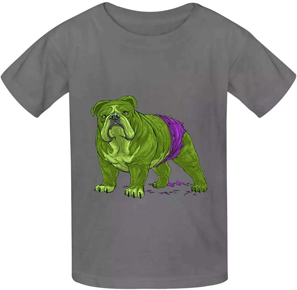 YYIL The Incredible Hulk Childrens Comfortable and Lovely T Shirt Suitable for Both Boys and Girls
