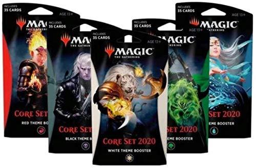 Magic The Gathering C63530000 Booster Coffret Core Style al/éatoire 2020