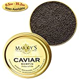 Marky s Premium Bowfin American Black Caviar - 1.75 oz - Malossol Bowfin Black Roe - GUARANTEED OVERNIGHT