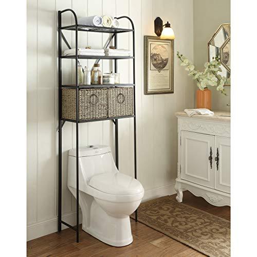 Windsor Toilet (Windsor Bathroom Spacesaver cabinet with Baskets)