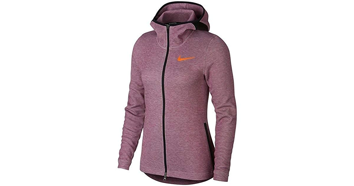 67a5f772fc29 Nike Dry Womens Showtime Baskeball Hoodie. Bordeaux