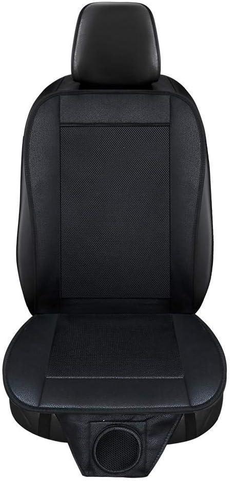 Currentiz 12V Amortiguador de Asiento de Carro de enfriamiento Cojín del Aire Acondicionado del Verano Estera del Asiento de Carro con Ventilador de Aire para el Carro de casa y Oficina