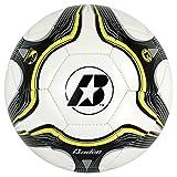 Baden Low Bounce Futsal Practice Ball, Black/Yellow, 3