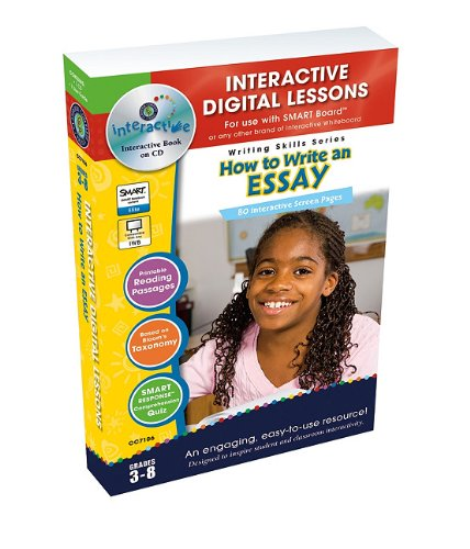How To Write An Essay - Digital Lesson Plans (Writing Skills)