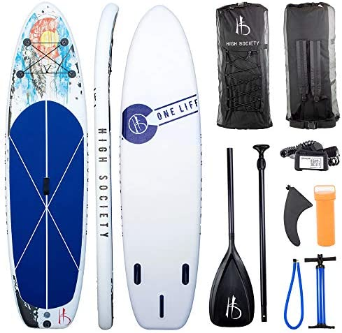 High Society Inflatable Stand Up Paddle Board SUP