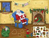 Dear Santa Sticker Advent Calendar