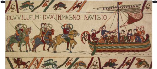 Bayeux - Navigio Belgian Tapestry by Charlotte Home Furnishings Inc.