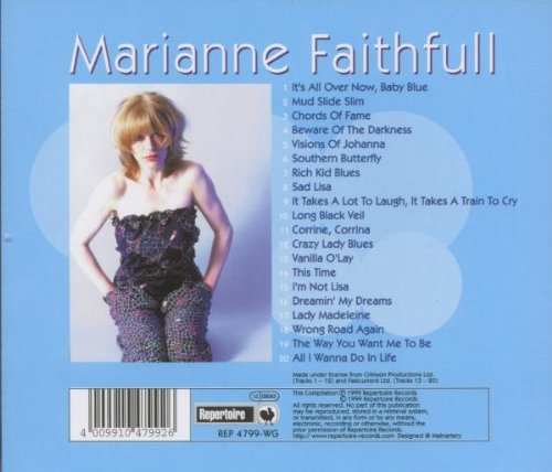 Marianne Faithfull Marianne Faithfull Its All Over Now Baby