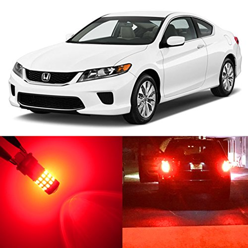 2007 Honda Accord Coupe Reviews - Alla Lighting 2pcs Rear Turn Signal Brake Stop Tail Light Red LED Bulb Lamp for 1996~ 97 Honda Accord Sedan Coupe only,1998~02 Accord Sedan only and 2003 ~ 2017 Accord 7440NA 7440A WY21W 7443
