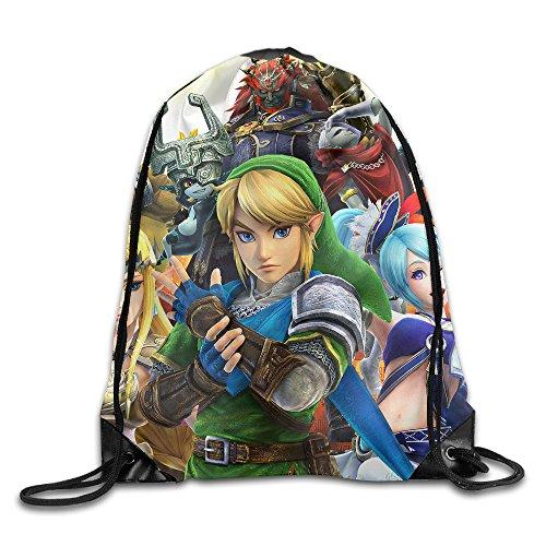Dlc Costumes Hyrule Warriors (ACT Hyrule Warriors Legends Drawstring Backpack Sack Bag)