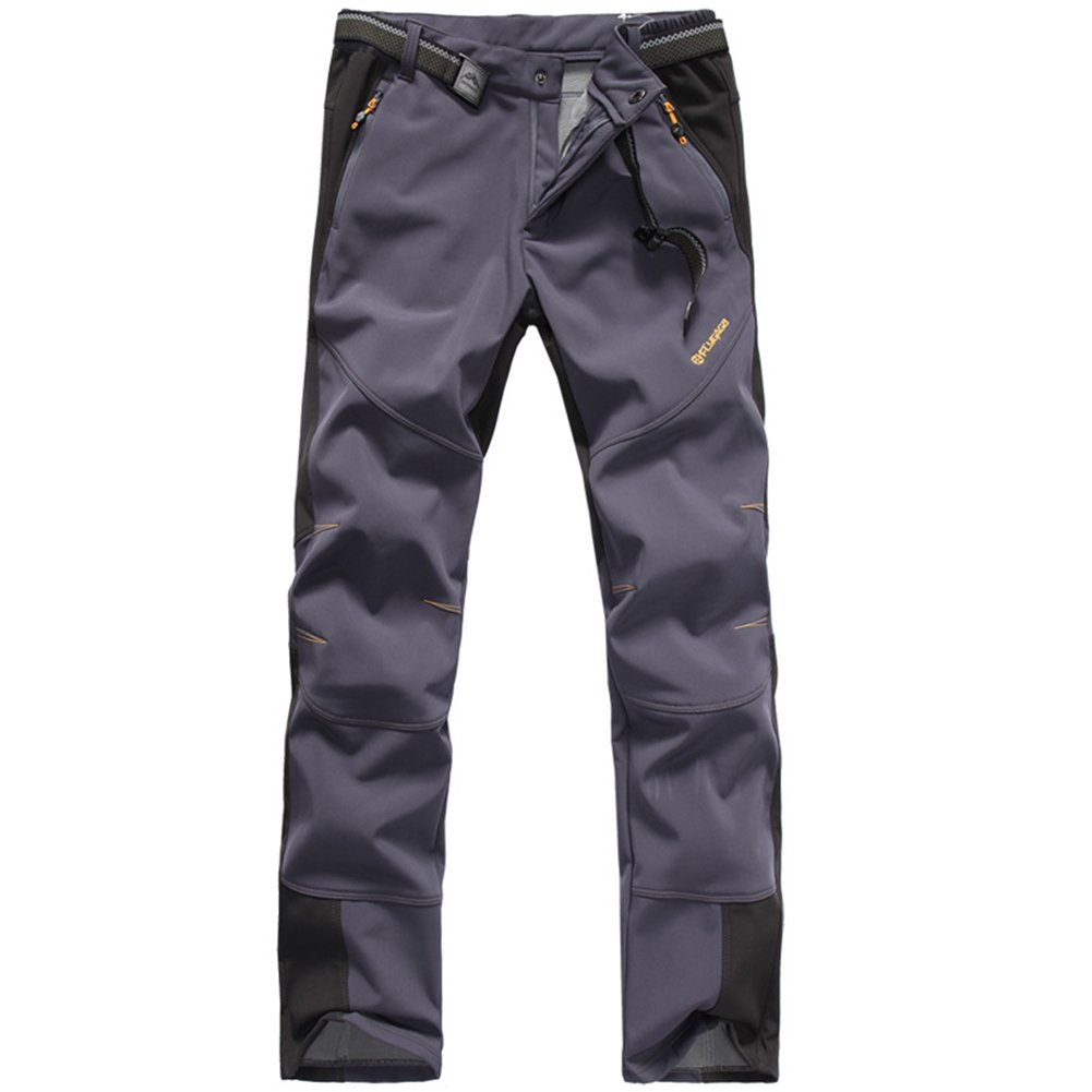 GITVIENAR Pantalon /Étanche Hommes Pantalons Hydrofuge Coupe-Vent /à S/échage Rapide pour Camping et Randonn/ée P/êche Escalade en Plein Air