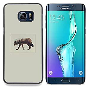 - Elk Art - - Cubierta del caso de impacto con el patr??n Art Designs FOR Samsung Galaxy S6 Edge Plus Queen Pattern