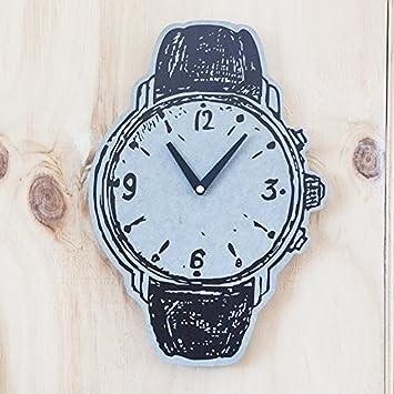 Amazonde Wuulii Decor Wanduhr Wanduhr Dekor Uhr Für Wohnzimmer