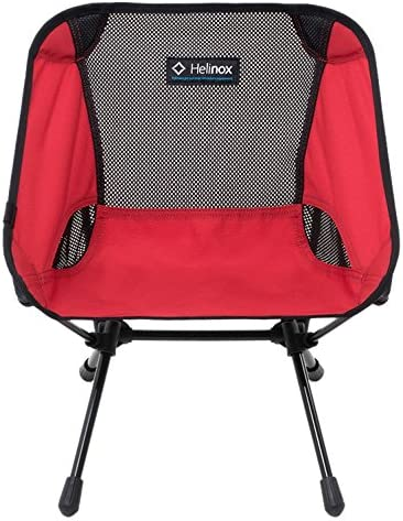 Helinox Chair One Mini Camping Chair Red: : Sports