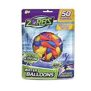 Zorbz - Pack con 50 globos de agua en CDU (Giochi Preziosi UPR03000)