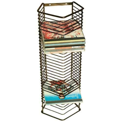 ATL1209 - ATLANTIC 1209 Onyx 35-CD Wire Storage Tower