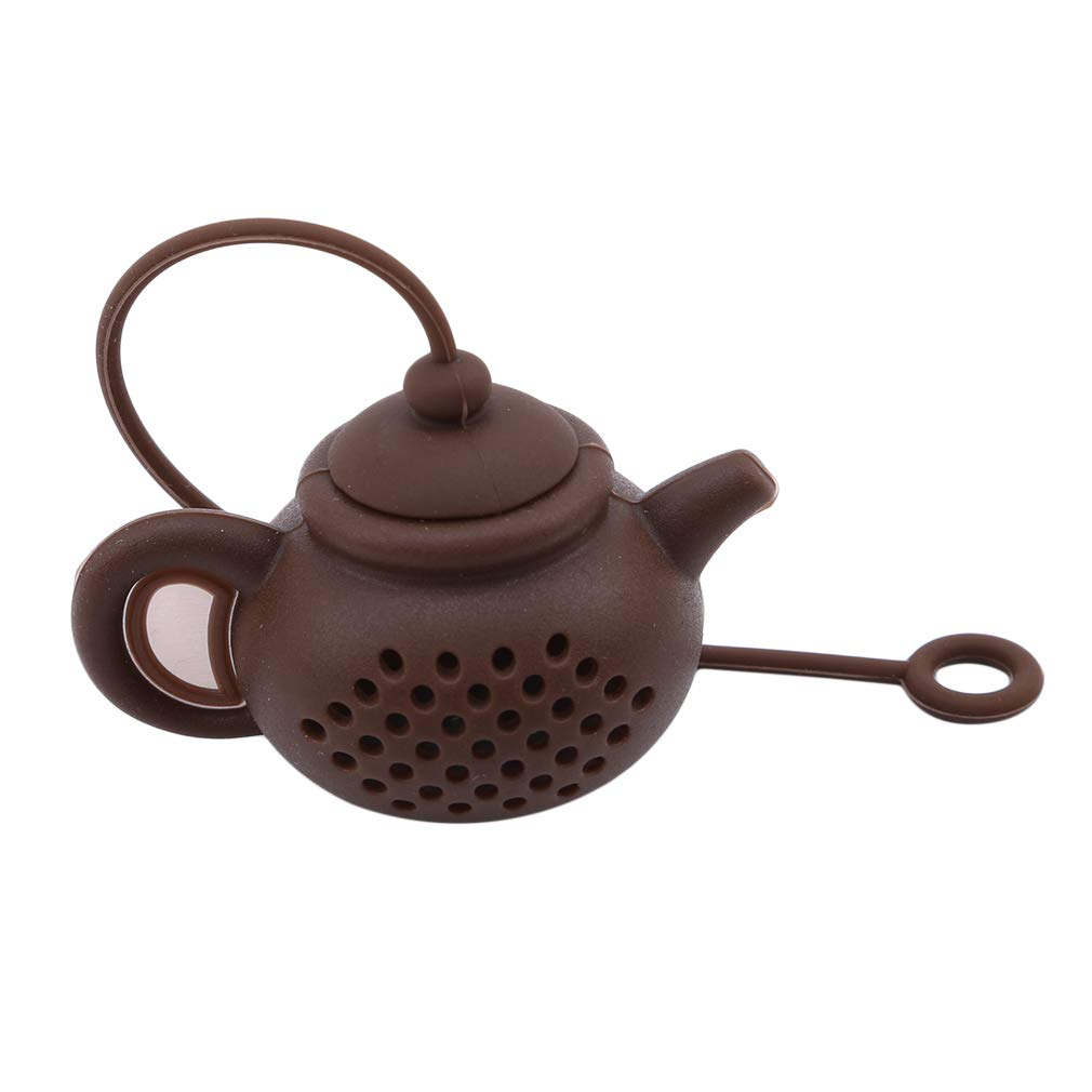 EH-LIFE Tea Maker Chinese Style Teapots Mini Cute Purple Clay Teapot Silicone Gel Decor Gift Coffee