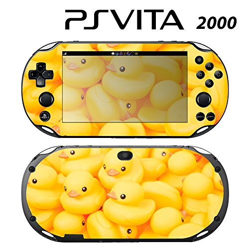 Skin Decal Cover Sticker for Sony PlayStation PS Vita Slim (PCH-2000) - Rubber Duck -  Decals Plus, PV2-PA13