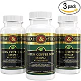 Cheap Vital & Strong Green Coffee Bean Extract with Svetol 180 Count