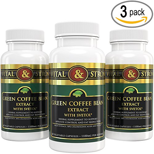 Indispensable & Strong Green Coffee Bean Extract with Svetol 180 Count