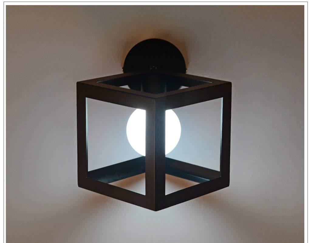Einfache kreative Bügeleisen Restaurant Balkon Studie Flur Gang Flur Nachttischlampe Neue (Farbe  B-LED)