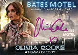 Bates Motel Autograph Card AOC Olivia Cooke as Emma Decody