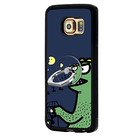 online store baa12 4386f Amazon.com: RappA Custom Made Samsung Galaxy S6 Edge Dinosaur Case ...