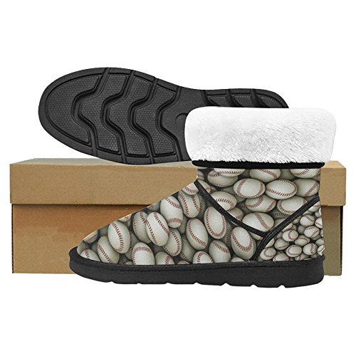 Boots Unique Designed Boots Multi 2 Snow InterestPrint Comfort Winter Womens 1pSn4
