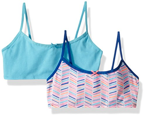 Hanes Big Girls' Crop Top Bralette 2-Pack