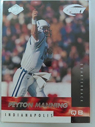 1999 Collectors Edge (Peyton Manning - 1999 Collector's Edge Fury #89 - Indianapolis Colts / Denver Broncos / Tennessee Volunteers)
