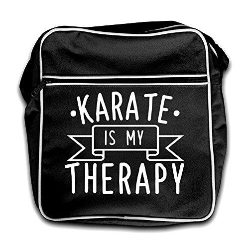 Karate Black Retro My Flight Therapy Is Bag rr4qBU