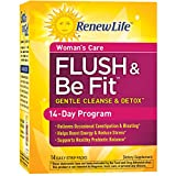 Renew Life Women's Cleanse - Flush & Be Fit - 3-Part, 14-Day Program - Dairy Free - 14 Daily Strip Packs