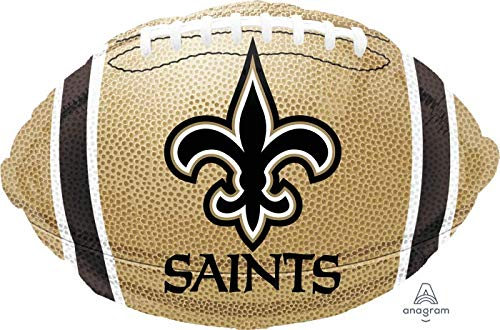 New Orleans Saints Football 18'' Balloon Super Bowl Birthday Party Decorations -