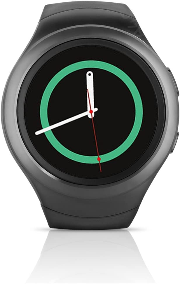 Samsung Galaxy Gear S2 Smartwatch SM-R730T (T-Mobile) with Small Rubber Band - Certified Refurbished (Dark Gray)
