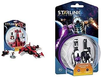 Starlink - Battle For Atlas, Pack Nave Pulse & Pack De Armas Crusher + Shredder: Amazon.es: Videojuegos