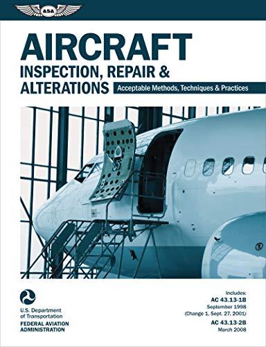 Aircraft Inspection, Repair & Alterations eBundle: ASA-AC43.13-2X