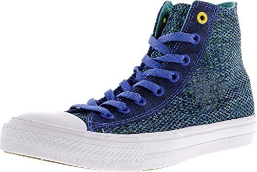 Converse Unisex-Erwachsene Sneakers Chuck Taylor All Star II C150148 High-Top Oxygen Blue