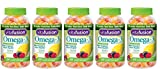Vitafusion Omega 3 Gummies, 120 Count (Pack of 5)