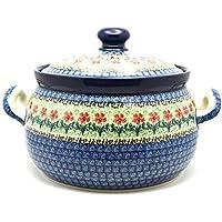 Polish Pottery Covered Tureen (without ladle slot) - Maraschino