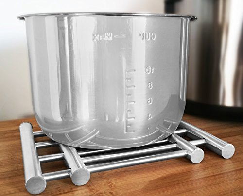 Stainless Steel Extendable Trivet - Pot Holder Rack to
