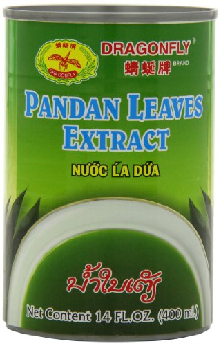 Dragonfly Pandan Leaves Extract, 14-Ounce (Pack of 6)