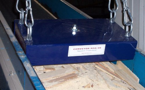 Shields Company CM3-24 Super Strength Conveyor Magnet with Load Release, 24''