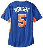 VF LSG MLB New York Mets Men's Dorell Wright 5 Fever Player Jersey