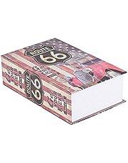 Simulation Boek Safe,Tangxi Secrect Hidden Safe,veiligheidsslot voor geld sieraden liefdesbrieven geheime dagboeken liefdesgeschenken verzameling
