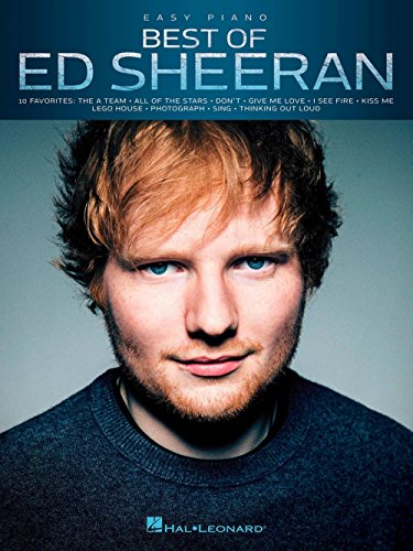 Hal Leonard Best Of Ed Sheeran For Easy Piano