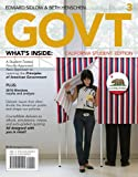 img - for GOVT3, California Edition (with Political Science CourseMate with eBook Printed Access Card) book / textbook / text book