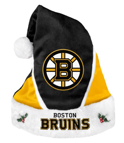 NHL Boston Bruins 2014 Colorblock Santa Hat